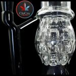 14IN Premium USA Color Grenade Perc Water Pipe – with 14M Bowl 2