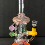 10in Cheech Recycler orange 2